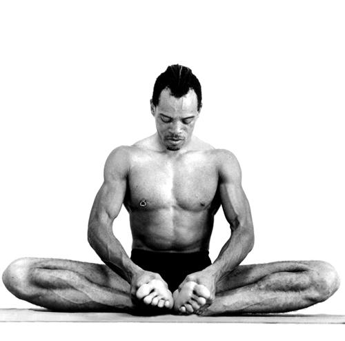Yoga Cobblers pose