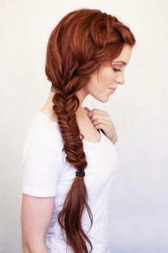 The Fishtail Look - hairstyles for long hair braids
