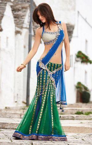 designer lehenga sarees2