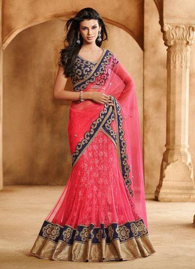 designer lehenga sarees4