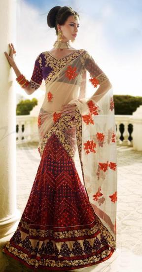 designer lehenga sarees7