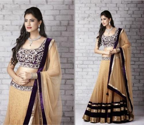 designer lehenga sarees8