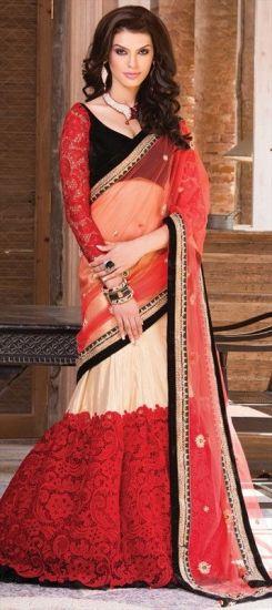 designer lehenga sarees9