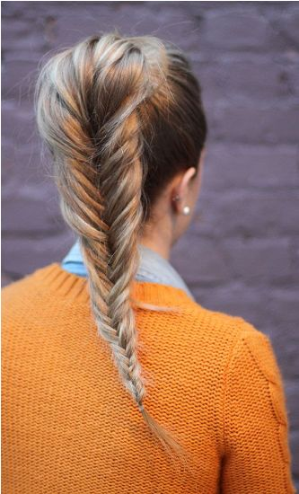 The Fishtail Look