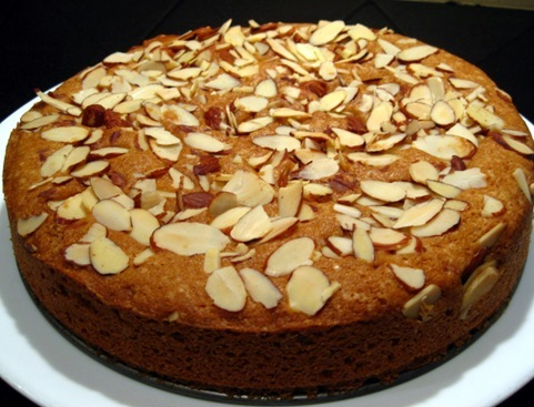 eggless carrot cake recipe3