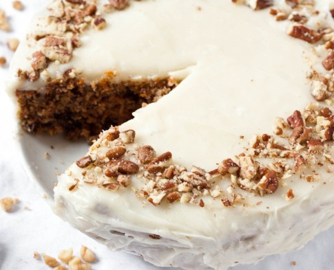 eggless carrot cake recipe6