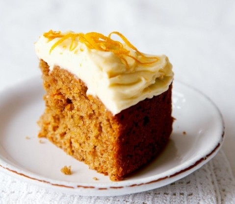 eggless carrot cake recipe8