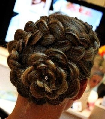Dutch Flower Braid Hairstyles