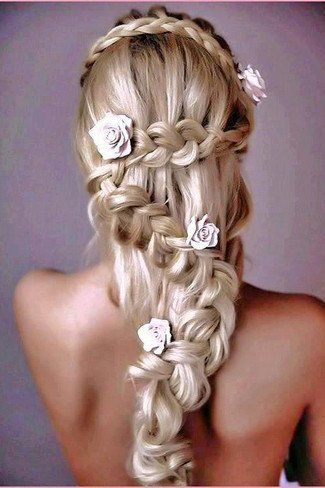 The Zig Zagging Braid Flower Braid Hairstyles