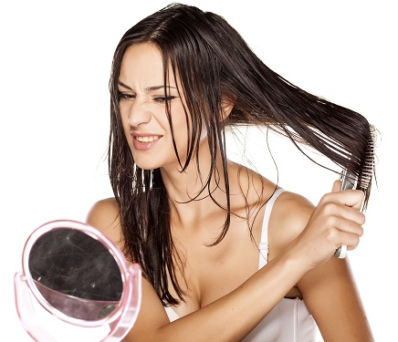how to brush up your hair