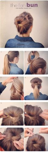 office hairstyles for long hair3