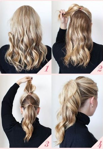 office hairstyles for long hair4