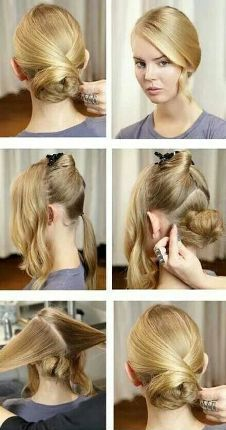 office hairstyles for long hair6