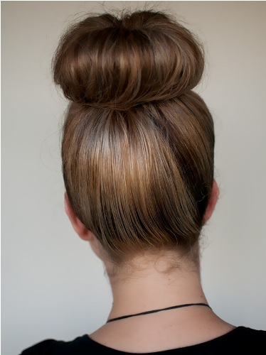 simple knot hairstyle1