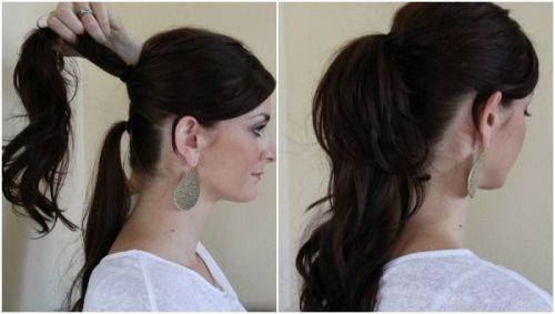 simple knot hairstyle8