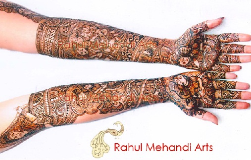Best Mehndi Artists In India-Rahul Sonavane
