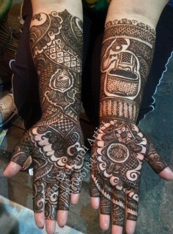 Best Mehndi Artists In India-Raju