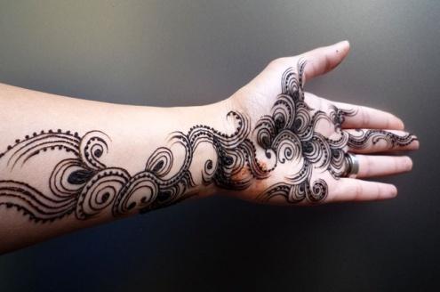 Bisha Mistry's mehndi designs8