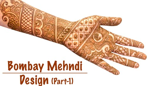 Bombay Style Mehndi Designs