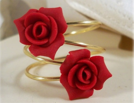 Red Roses Floral Jewellery for Mehndi