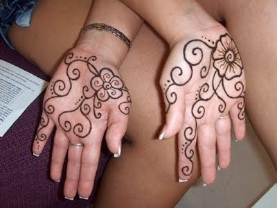 Mehndi design for kids7