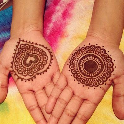 Mehndi design for kids9