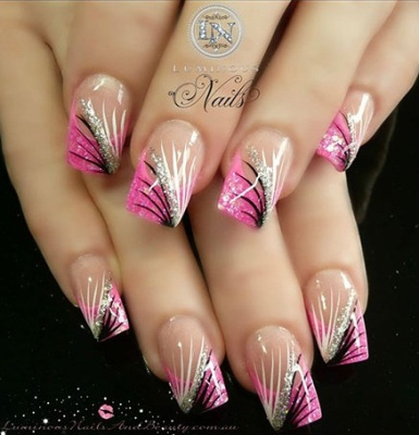 acrylic nail art designs1