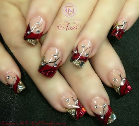 acrylic nail art designs8
