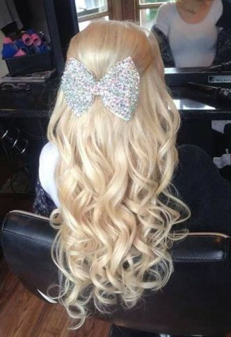 bow with long hair2
