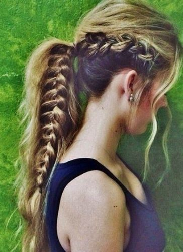 braided ponytails4