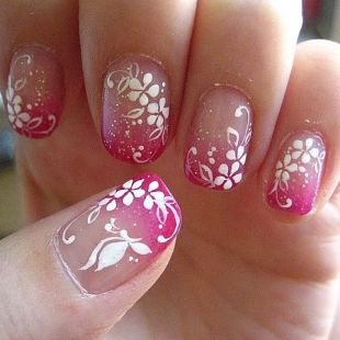 butterfly nail art6