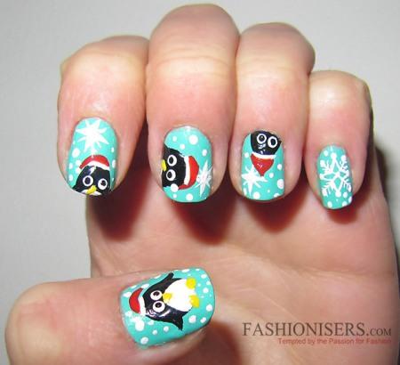penguin nail designs9