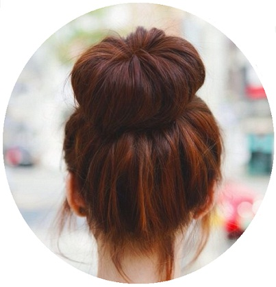 how to make a sock bun without a sock