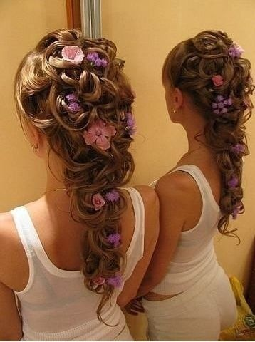 tangled hair style 9 best flower hairstyles for and hair 8707