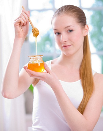 Honey to control split ends