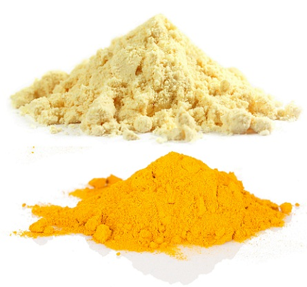 How to Remove Tan from Face-Gram Flour and Turmeric