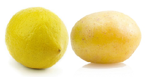 How to Remove Tan from Face-Lemon Juice with Potato