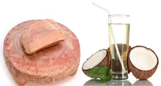 How to Remove Tan from Face-Sandalwood and Coconut Water