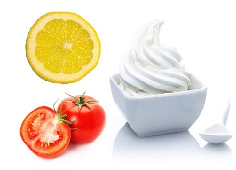 How to Remove Tan from Face-Tomato, Yogurt and Lemon Juice Face Pack