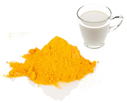 How to Remove Tan from Face-Turmeric Powder with Milk