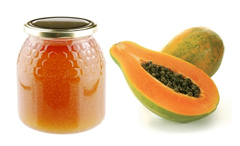 How to Remove Tan from Face-honey and papaya face pack
