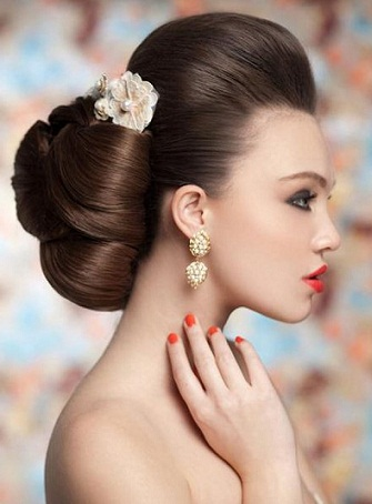 Latest and Modern Bridal Hairstyles 34
