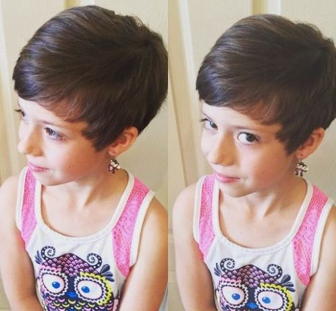 Fine Top 9 Short Hairstyles For Little Girls Styles At Life Short Hairstyles Gunalazisus