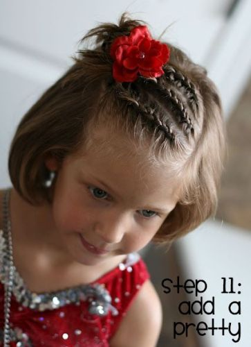 Sensational Top 9 Short Hairstyles For Little Girls Styles At Life Short Hairstyles Gunalazisus