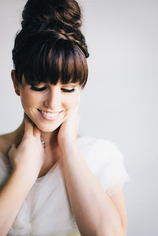 Wedding Hairstyles with Bangs1
