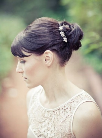 Wedding Hairstyles with Bangs4