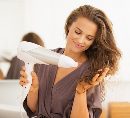 avoid High Temperatures Drying to prevent split ends