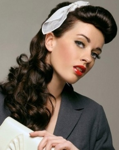 old style hair 9 best vintage hairstyles for hair styles at 8384 | vintage hairstyle for long hair2