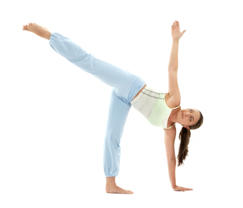 Half Moon Pose - Practice Ardha Chandrasana to Control Stress Problems