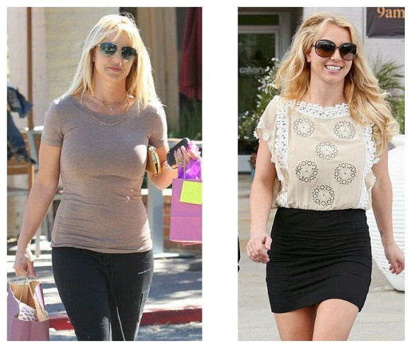 Britney Spears weight loss before and after